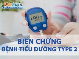 Biến chứng bệnh tiểu đường Type 2