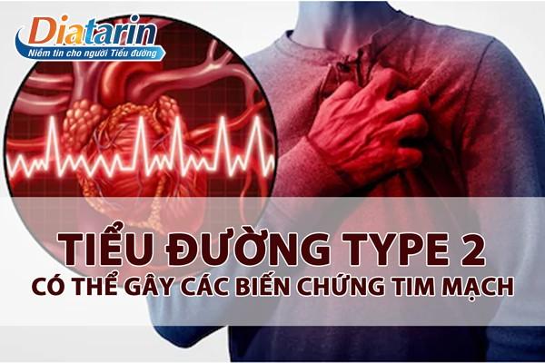 Biến chứng tim mạch rất nguy hiểm đối với bệnh nhân đái tháo đường Tuýp 2