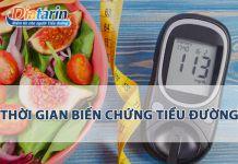Thời gian biến chứng của bệnh tiểu đường