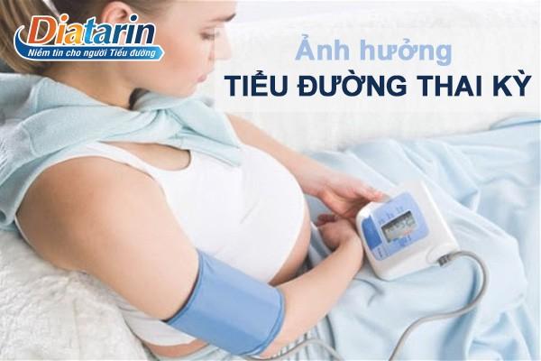 Một số ảnh hưởng của tiểu đường thai kỳ