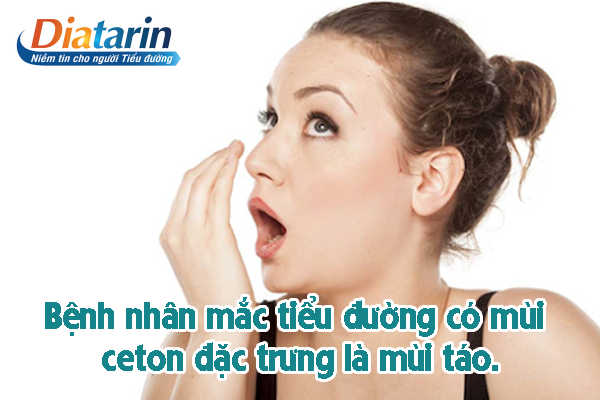 Người mắc bệnh tiểu đường thì hơi thở thường có mùi táo