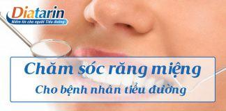 Chăm sóc răng miệng cho bệnh nhân tiểu đường