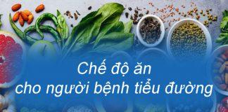 Chế độ ăn hợp lý cho người bệnh tiểu đường