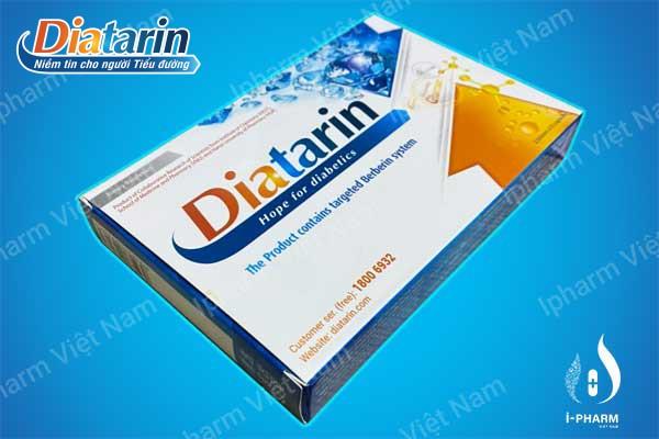 Diatarin - Niềm tin cho người tiểu đường