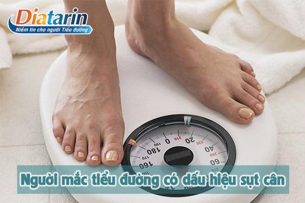 Người mắc bệnh tiểu đường thời kỳ đầu có dấu hiệu sụt cân