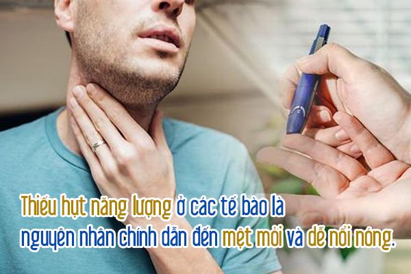 Người bị mắc bệnh tiểu đườnh tuýp 1 sẽ bị thiếu hụt năng lượng do không chuyển hoá được glucose máu vào tế bào