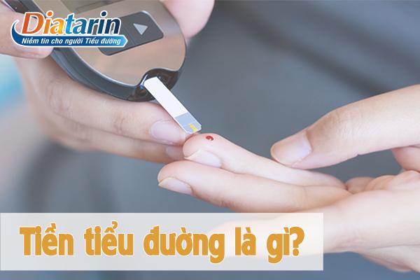 Tiền tiểu đường là gì?