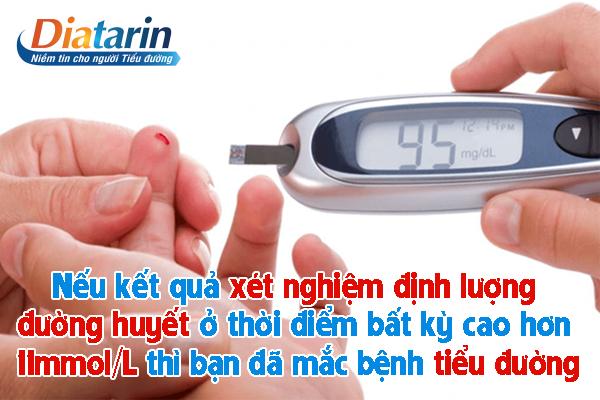 Xét nghiệm định lượng đường huyết